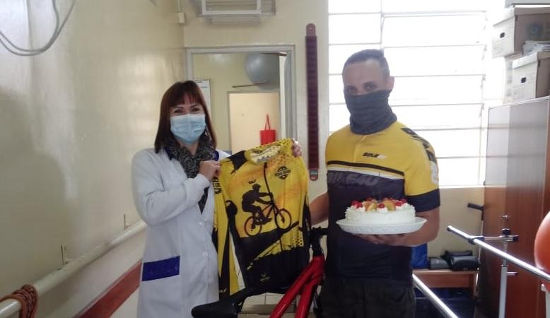 Amor e ciclismo em meio a pandemia