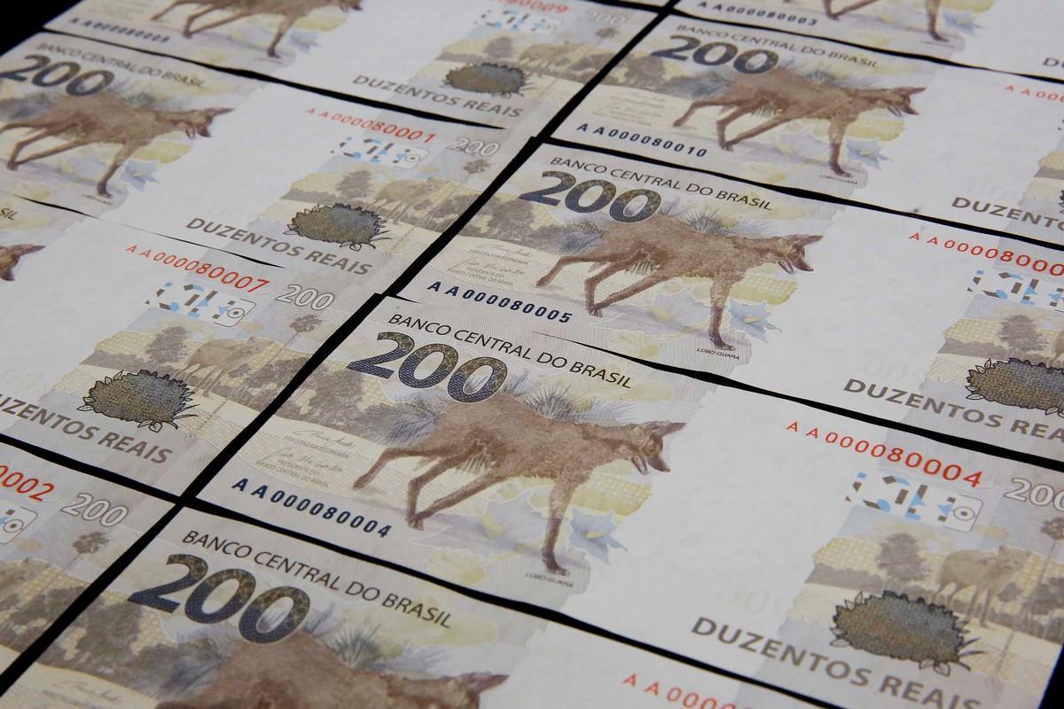 Brasília, 02/09/2020. O Banco Central (BC) lançou nesta quarta-feira (02/09) a nova nota de R$ 200,00 com a imagem do lobo-guará. Foto: Raphael Ribeiro/BCB.
