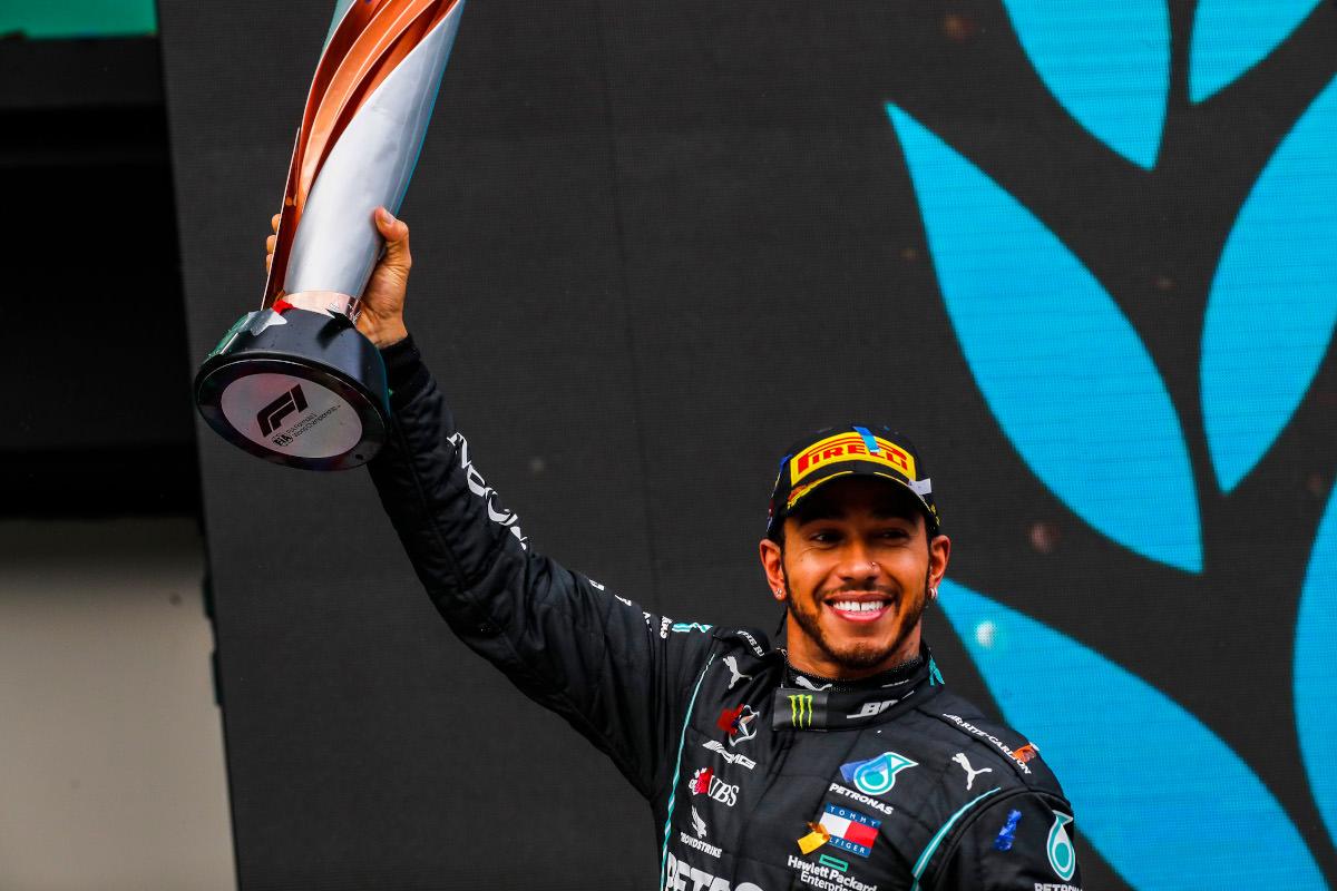 F1 – Lewis Hamilton vence o GP da Turquia e conquista o 7º Título Mundial de Pilotos. Foto: LAT Images for Mercedes-Benz Grand Prix Ltd/via Fotos Públicas.