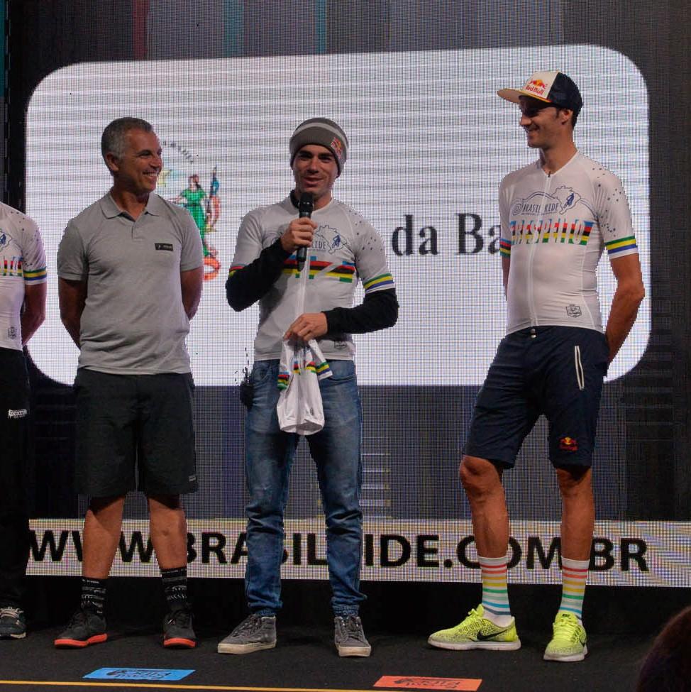 Mario Roma, Henrique Avancini e Tiago Ferreira. Foto: Divulgação.
