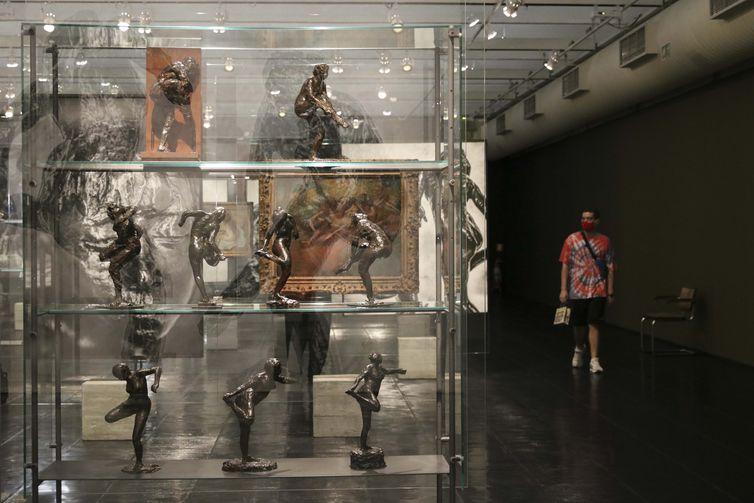 O Museu de Arte de São Paulo Assis Chateaubriand - MASP promove a mostra Degas, com 76 obras do artista francês. Foto: © Rovena Rosa/Agência Brasil.