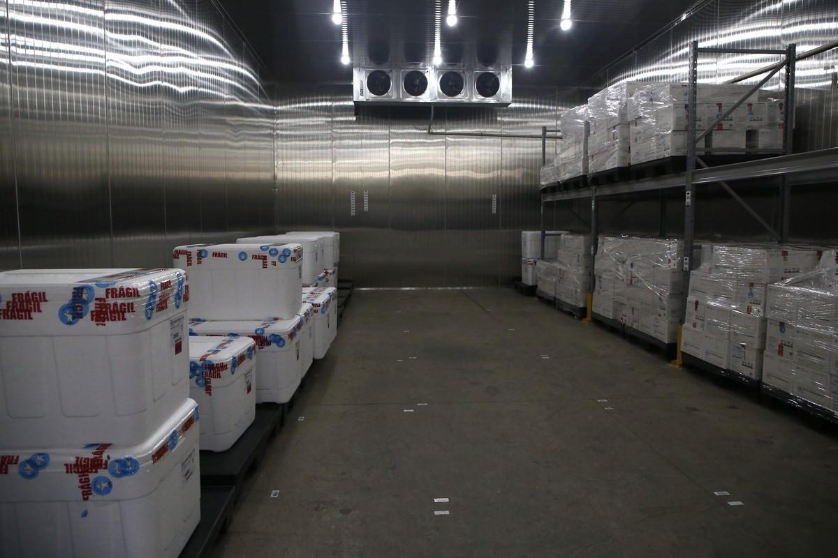 Coronavac – Distribuição de vacinas para o interior de São Paulo. Foto: GovSP/via Fotos Públicas.
